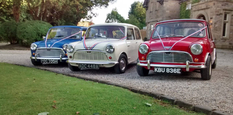 Wedding Cars Mini Coopers